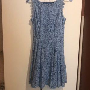 Light blue semi formal dress